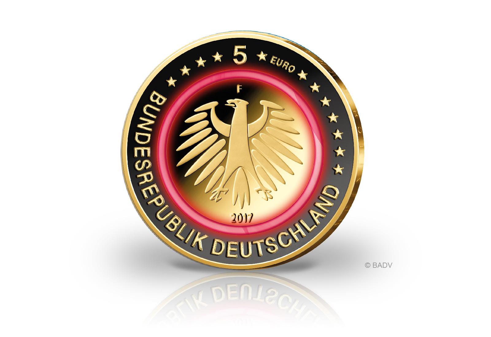 5 euro münze gemäßigte zone