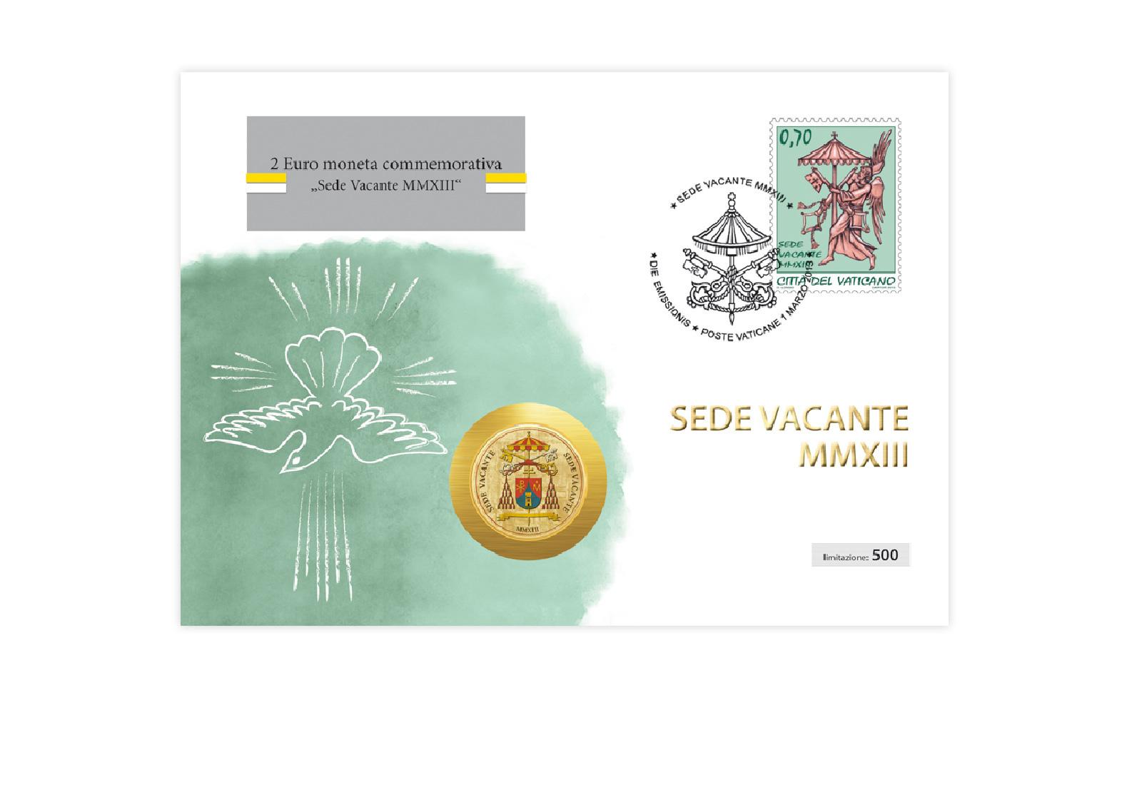Numisbrief Vatikan Sedisvakanz 2013 Welt Gavia Gmbh