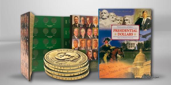 Sammelalbum Präsidenten-Serie der USA 2007 - 2016