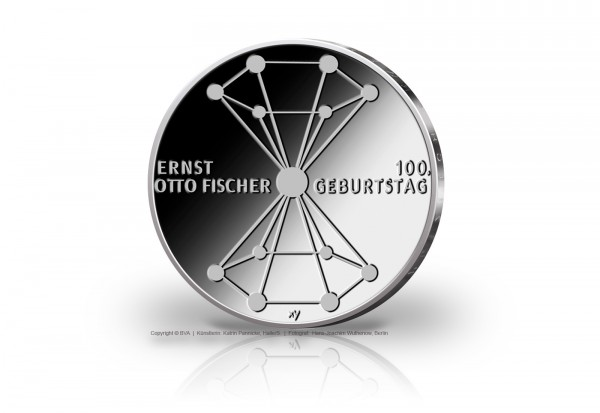 BRD 20 Euro 2018 st 100. Geburtstag Ernst O. Fischer