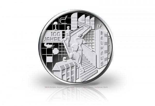 20 Euro Silbermünze 2019 Deutschland 100 Jahre Bauhaus st