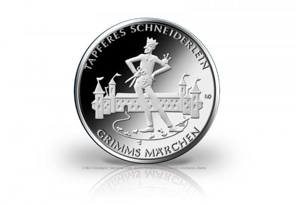20 Euro Silbermünze 2019 Deutschland Das tapfere Schneiderlein st