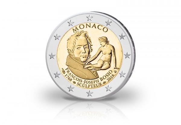 Monaco 2 Euro Gedenkmünze 2018 PP 250. Geburtstag von Francois-Joseph Bosio