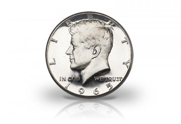 Half Dollar Silber 1965-1970 USA John F. Kennedy