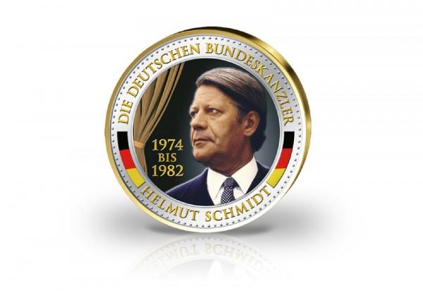 Helmut Schmidt Farbausgabe und 24kt Goldauflage
