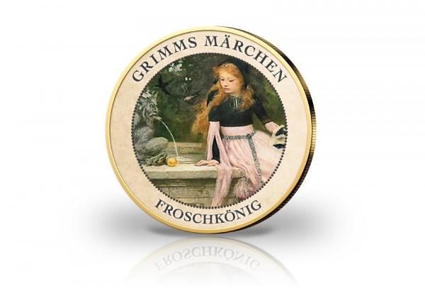 2 Euro Grimms Märchen Der Froschkönig