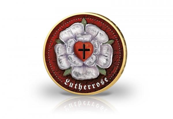 2 Euro 500 Jahre Reformation - Die Lutherrose