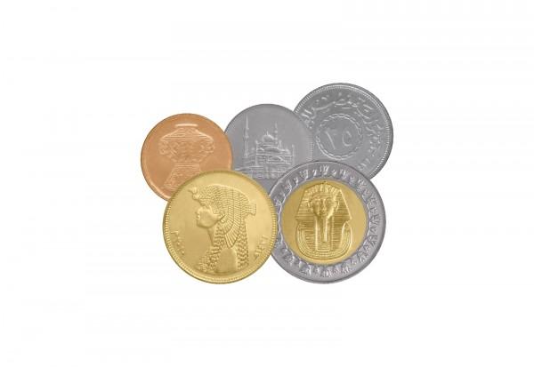 Weltmünzsatz Ägypten bankfrisch im Blister