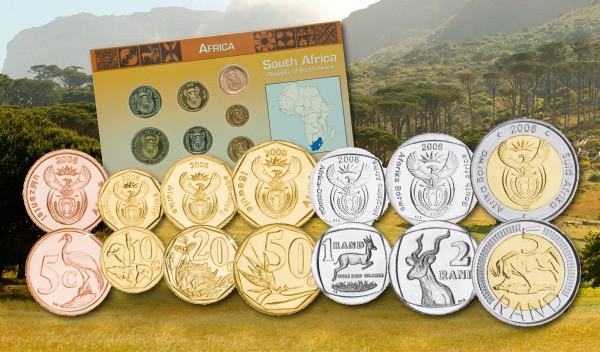 Südafrika Kursmünzensatz