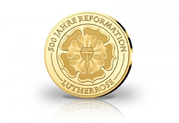 Goldausgabe Lutherrose