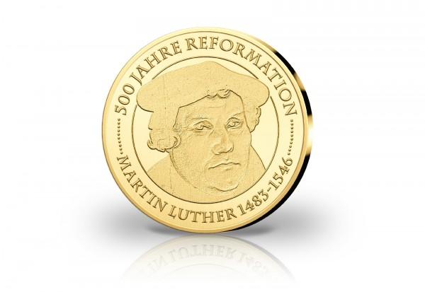Goldausgabe Martin Luther - 500 Jahre Reformation, 1/10 oz statt später 249,- Euro nur