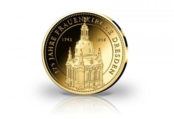 Goldausgabe 275 Jahre Dresdner Frauenkirche