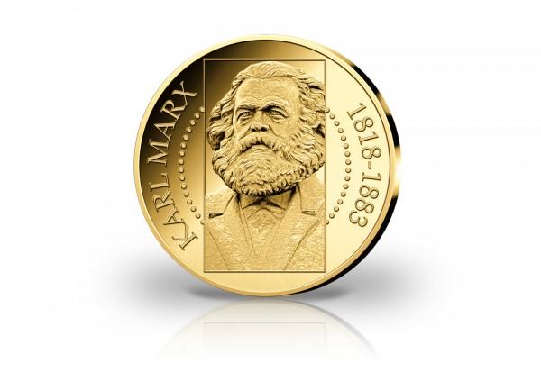 Goldausgabe Karl Marx 200. Geburtstag