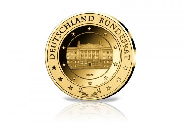 Goldausgabe 1/10 Unze Gold 2019 Bundesrat