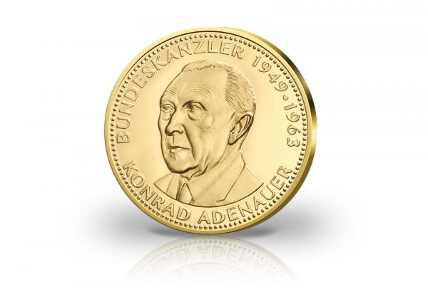 Goldausgabe Konrad Adenauer