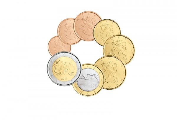 Finnland Eurosatz 2018 im hochwertigen Blister