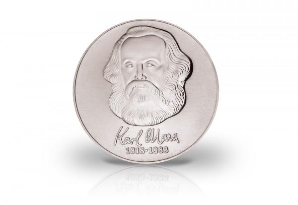 Ddr 20 Mark Gedenkmünze 1983 100 Todestag Karl Marx J 1592 Ssvz
