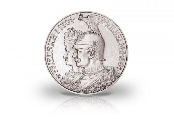 Preußen 2 Mark Silbermünze 1901 200 Jahre Königreich Preußen