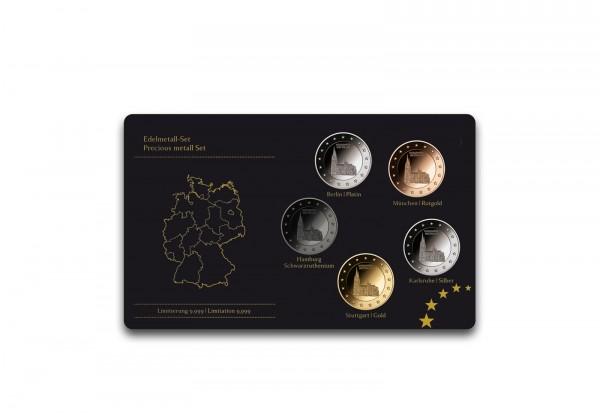 Edelmetallset Kölner Dom Nordrhein-Westfalen