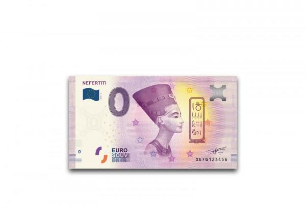 0 Euro Banknote mit Motiv Ägypten Nofretete