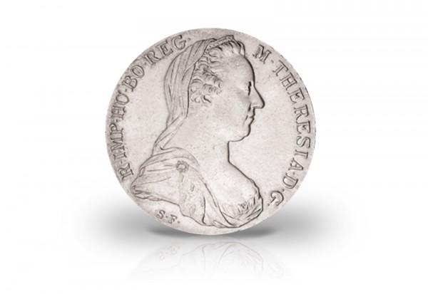 Österreich Silberausgabe Neuprägung Maria Theresia