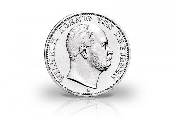 Preußen Vereinstaler 1864-1871 ss/vz König Wilhelm I.