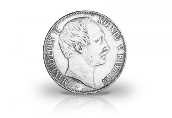 Bayern Vereinstaler 1857-1864 ss/vz König Maximilian II. Thun 98