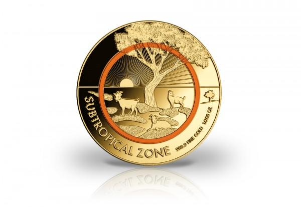Goldausgabe Subtropische Zone