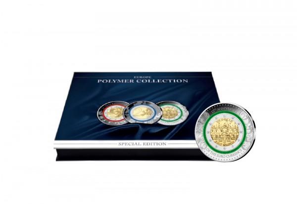 Münzkassette für 20x Polymerausgaben