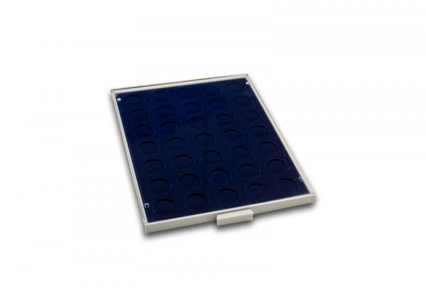 Münzbox für 35 Münzen bis Durchmesser 32,5 mm